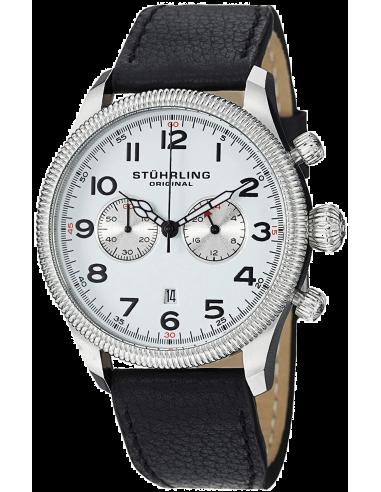 Chic Time | Montre Homme Stuhrling Original Monaco 482.33152 Noir  | Prix : 216,30€