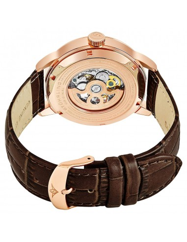 Chic Time   Montre Homme Stuhrling Original Legacy 133.3345K54 Marron    Prix : 209,40€