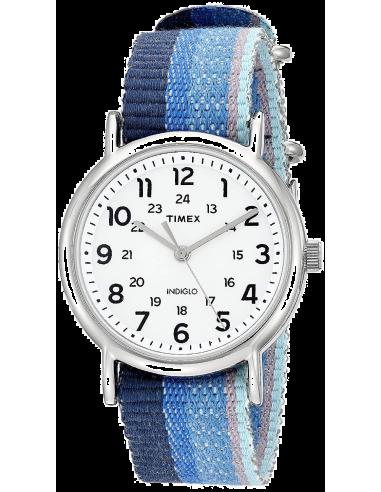 Chic Time | Montre Femme Timex Weekender TW2R102009J Bleu  | Prix : 55,20€