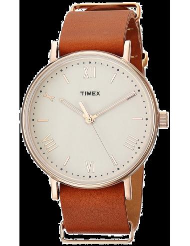 Chic Time | Montre Femme Timex Weekender Fairfield TW2P91200 Marron  | Prix : 69,30€