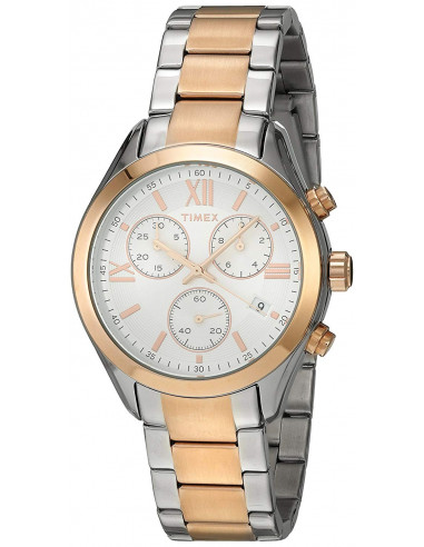 Chic Time | Montre Femme Timex Miami TW2P938009J Or Rose  | Prix : 111,20 €