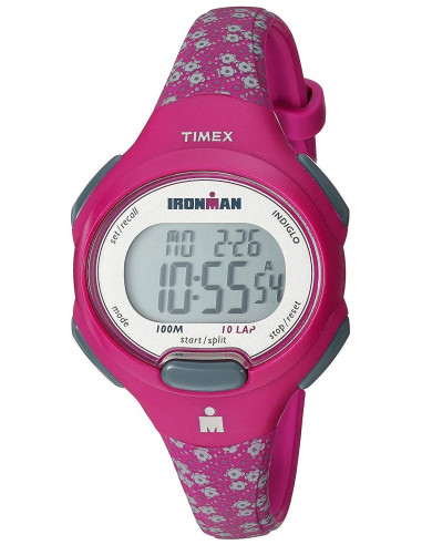 Chic Time   Montre Femme Timex Ironman TW5M07000 Rose    Prix : 59,40€
