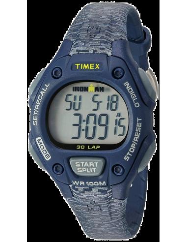 Chic Time | Montre Femme Timex Ironman TW5M074009J Bleu  | Prix : 63,20€