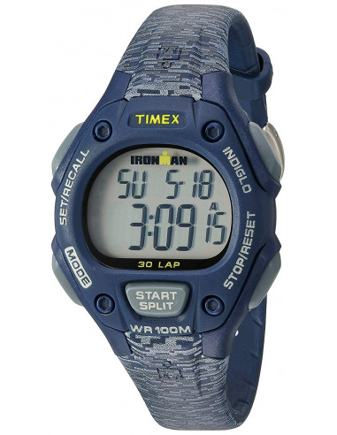 Chic Time   Montre Femme Timex Ironman TW5M074009J Bleu    Prix : 63,20€