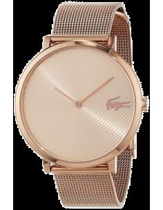 Chic Time | Montre Femme Lacoste Moon Ultra Slim 2001028 bracelet en maille milanaise or rose  | Prix : 149,25€