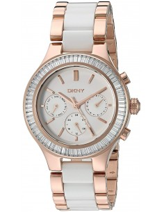 Chic Time | Montre Femme DKNY Chambers NY2498 Or Rose  | Prix : 181,35 €
