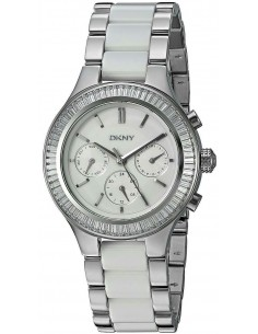 Chic Time | Montre Femme DKNY Chambers NY2497 Blanc  | Prix : 239,85 €