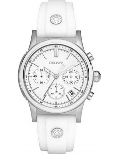 Chic Time | Montre Femme DKNY NY8170 Blanc  | Prix : 233,35 €