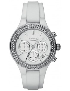 Chic Time | Montre Femme DKNY NY8185 Blanc  | Prix : 194,35 €