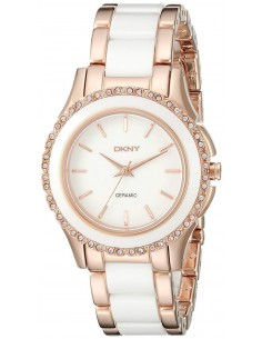 Chic Time | Montre Femme DKNY Westside NY8821 Or Rose  | Prix : 226,85 €