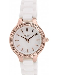 Chic Time | Montre Femme DKNY Chambers NY2251 Blanc  | Prix : 148,85 €