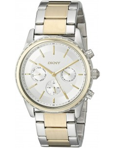 Chic Time | Montre Femme DKNY Rockaway NY2333 Or Bracelet bicolore  | Prix : 194,35 €