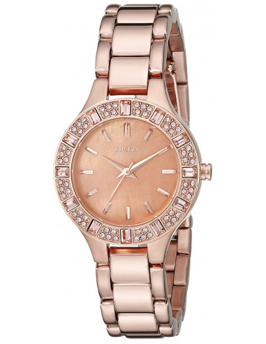 Chic Time | Montre Femme DKNY Chambers NY8486 Or Rose  | Prix : 197,40€