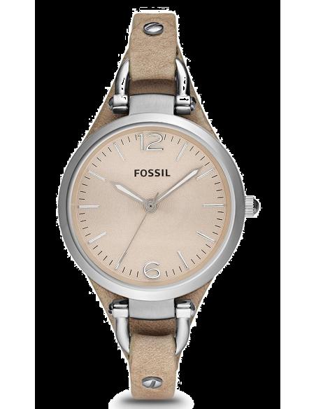 Chic Time | Montre Femme Fossil Georgia ES2830 Crème  | Prix : 169,00€