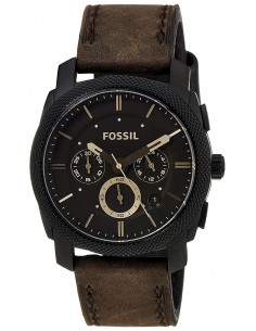 Chic Time | Montre Homme Fossil Machine FS4656 Marron  | Prix : 169,00 €