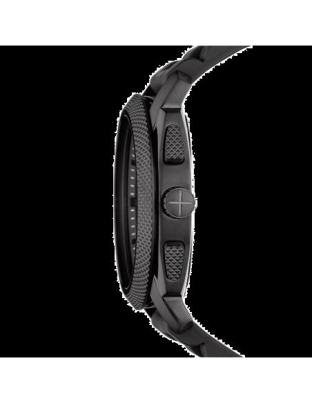 Chic Time | Montre Homme Fossil FS4487 Bracelet Noir en Silicone  | Prix : 135,20€
