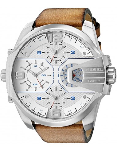 Chic Time | Montre Homme Diesel Uber Chief DZ7374 Marron  | Prix : 154,50 €