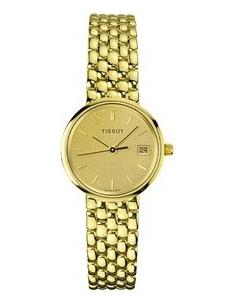 Chic Time | Montre Femme Tissot Goldrun T73310821 Plaquée or jaune 18 carats  | Prix : 3,600.00