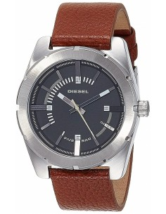 Chic Time | Montre Homme Diesel Good compagny DZ1631 bracelet en cuir brun  | Prix : 97,30€