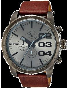 Chic Time | Montre Diesel Homme DZ4210 Bracelet Cuir Marron  | Prix : 183,20€