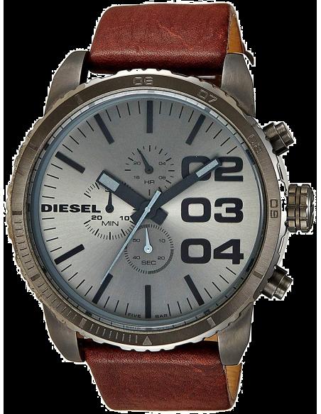 Chic Time   Montre Diesel Homme DZ4210 Bracelet Cuir Marron    Prix : 229,00€