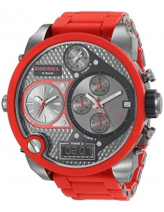 Chic Time | Montre Homme Diesel Super Bad Ass DZ7279 Rouge  | Prix : 429,00 €