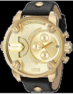 Chic Time | Montre Homme Diesel Little Daddy DZ7363 Couleur noire et dorée  | Prix : 254,15€