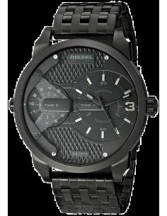 Chic Time | Montre Homme Diesel Mini Daddy DZ7316 Bracelet noir en acier  | Prix : 299,00€