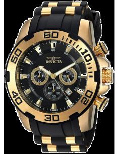Chic Time | Montre Homme Invicta Pro Diver 22340 Noir  | Prix : 149,40€