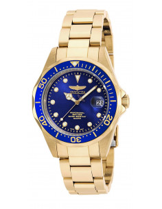 Chic Time | Montre Mixte Invicta Pro Diver 17052 Or  | Prix : 107,40 €