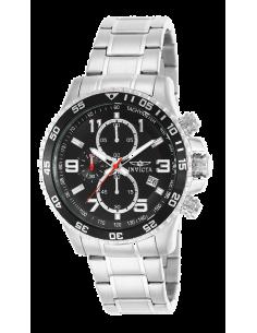 Chic Time | Montre Homme Invicta Specialty 14875 Bracelet Argenté En Acier Inoxydable  | Prix : 119,40€