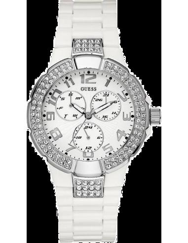 Chic Time | Produits supprimés Guess Prism W13564L1 Blanc  | Prix : 169,90€
