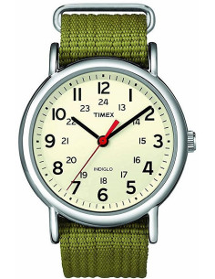 Chic Time | Montre Mixte Timex T2N651 Vert  | Prix : 74,25€