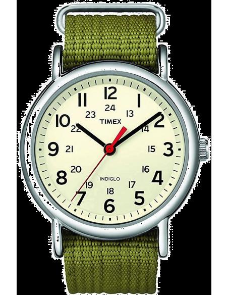 Chic Time | Montre Mixte Timex T2N651 Vert  | Prix : 59,40€