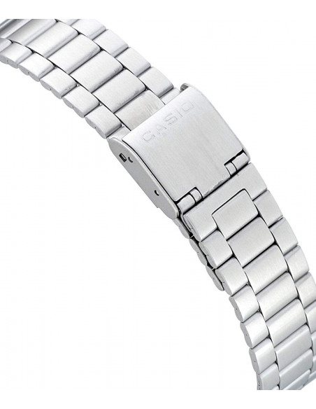 Chic Time   Montre Homme Casio Collection A168WA-1YES Argent    Prix : 28,00€