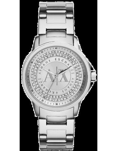 Chic Time | Montre Femme Armani Exchange AX4320 Argent  | Prix : 340,00€