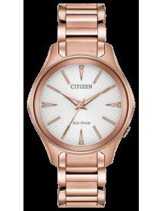 Chic Time | Montre Femme Citizen Modena Eco-Drive EM0593-56A  | Prix : 299,98€