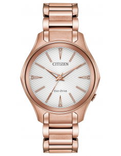 Chic Time | Montre Femme Citizen Modena Eco-Drive EM0593-56A  | Prix : 299,98 €