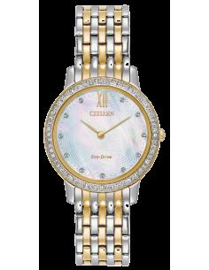 Chic Time | Montre Femme Citizen Eco-Drive EX1484-57D  | Prix : 359,98€