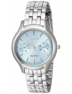 Chic Time | Montre Femme Citizen Eco-Drive Silhouette FD4010-57L  | Prix : 429,98 €