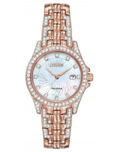 Chic Time | Montre Femme Citizen Eco-Drive Silhouette Crystal EW1228-53D  | Prix : 429,98 €
