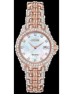 Chic Time | Montre Femme Citizen Eco-Drive Silhouette Crystal EW1228-53D  | Prix : 429,98€