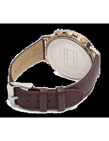 Chic Time | Montre Femme Tommy Hilfiger Casey 1781734 Marron  | Prix : 199,00€