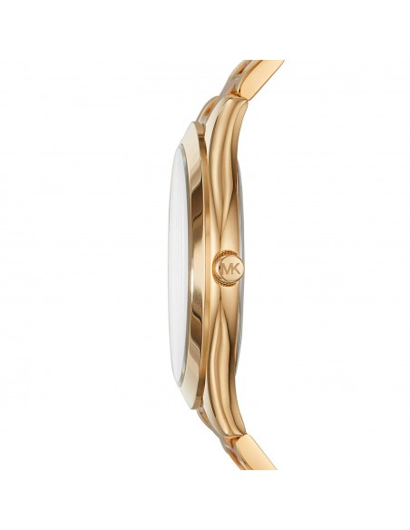 Chic Time   Montre Michael Kors Runway MK3493 Bracelet acétate et acier or rose    Prix : 143,40€