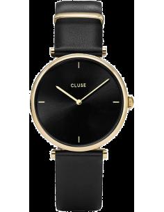 Chic Time | Montre Femme Cluse Triomphe Gold Black/Black CL61006  | Prix : 64,97€