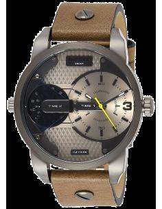 Chic Time | Montre Homme Diesel Mini Daddy DZ7338 Brun  | Prix : 167,40€
