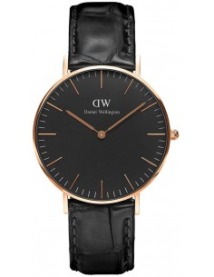 Chic Time | Montre Femme Daniel Wellington Classic Black Reading Rose Gold DW00100141  | Prix : 101,40 €