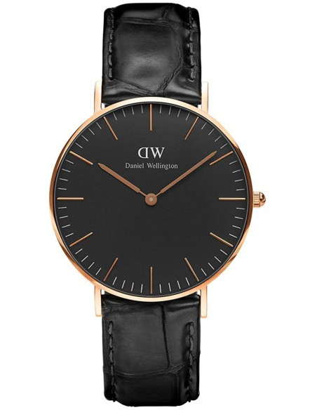 Chic Time | Montre Femme Daniel Wellington Classic Black Reading Rose Gold DW00100141  | Prix : 143,65 €