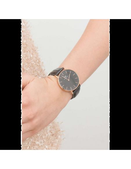 Chic Time | Montre Femme Daniel Wellington Classic Black Reading Rose Gold DW00100141  | Prix : 84,50€
