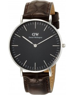 Chic Time | Montre Femme Daniel Wellington Black York Silver DW00100146  | Prix : 101,40€